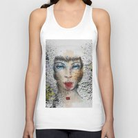 make up Tank Tops featuring Make up by Ryan Eduad