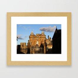 Holyrood Palace Framed Art Print
