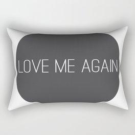 Love Me Again Rectangular Pillow