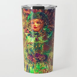 Abstract Carneval Travel Mug