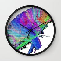 law Wall Clocks featuring 2nd Law by Progressive T Shirts
