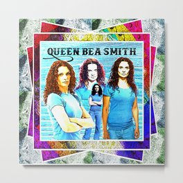 Queen Bea Smith Metal Print