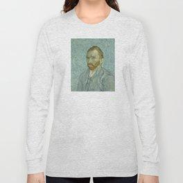 Vincent van Gogh - Self Portrait Long Sleeve T-shirt