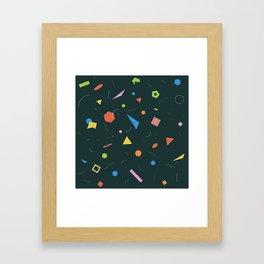 Polygon Soup Framed Art Print