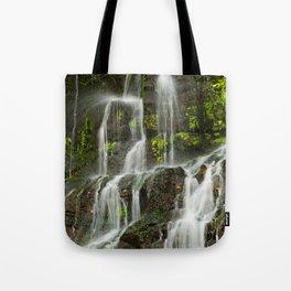 Ho Opi'i Waterfall  Tote Bag