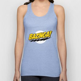 The Big Bang Theory - Bazinga  Unisex Tank Top