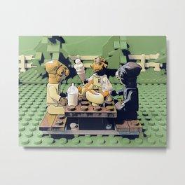 Mon Calamari Picnic Metal Print