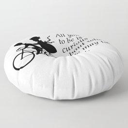 Curiosity  Floor Pillow
