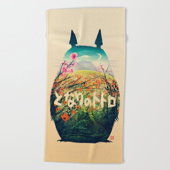 Forest Dream Beach Towel