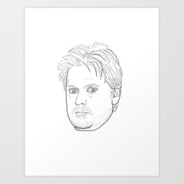 Tim Heidecker Art Print