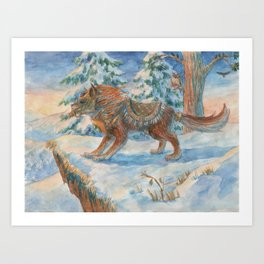 Wild Beast Art Print