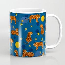 Cosmic Tigers Coffee Mug
