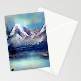 Sigmoid Scapes Stationery Cards