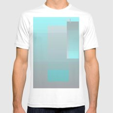 Face Mens Fitted Tee White MEDIUM