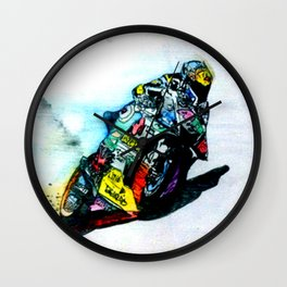 Moto Tune Wall Clock