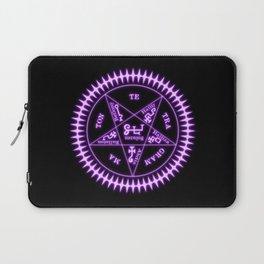 Sebastian Michaelis Sigil Light (black bg) Laptop Sleeve