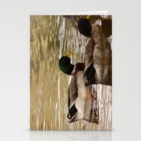 ducks Stationery Cards featuring Ducks by Sciuridae