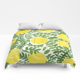 The Fresh Lemon Comforters