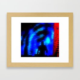 ....and Bass Fell from the Sky Framed Art Print