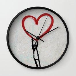 heart wall Wall Clock