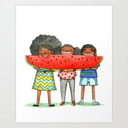 Watermellon Art Print