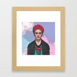 Trendy Frida Kahlo-Ferwell Framed Art Print