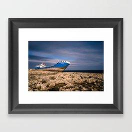Hephaestus Shipwreck Framed Art Print