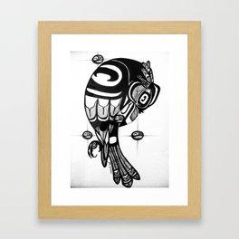 Raven Steals the Stars Framed Art Print