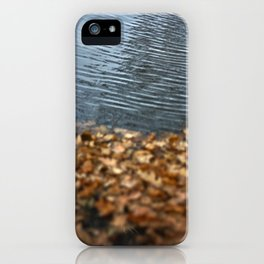 Leaves & Water iPhone Case