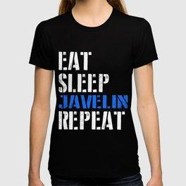 Eat. Sleep. Javelin. Repeat. T-shirt