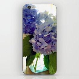 Hydrangea Bouquet iPhone Skin