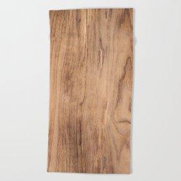 Wood Grain #575 Beach Towel