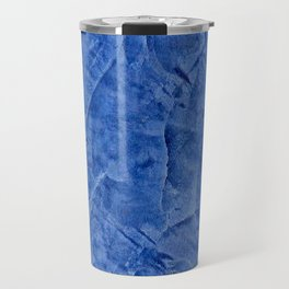 Beautiful Vibrant Light Blue Plaster #society6 #bluedecor #blue Travel Mug