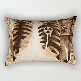 Tangential Efforts - The Abuses of Science Rectangular Pillow