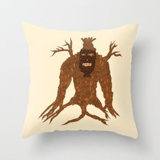 Tree Stitch Monster Throw Pillow