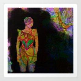 Girl III Art Print