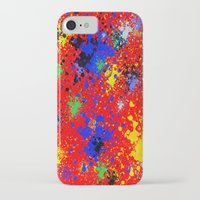 splatter iPhone & iPod Cases featuring Splatter by Alexis Morgan