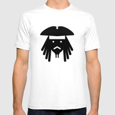 sparrow Mens Fitted Tee SMALL White