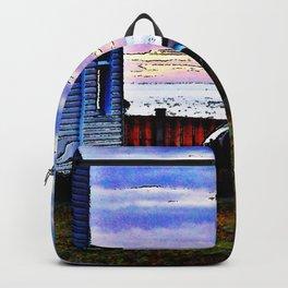 Custom Sunset Machine Backpack
