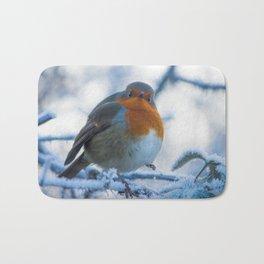 Winter Robin Bath Mat