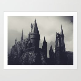 Ominous Castle Art Print