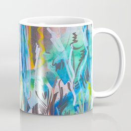 Abstract landscape expressionist Coffee Mug