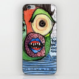 People Need Dramatic Examples iPhone Skin