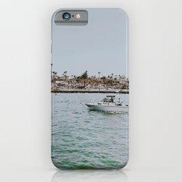 boat life v / newport beach, california iPhone Case