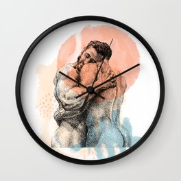The Lovers - NOODDOOD Remix Wall Clock