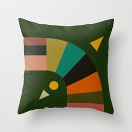 turning Throw Pillow