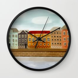 English Embankment Saint-P Wall Clock