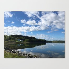 Calm Coastal Summer Canvas Print