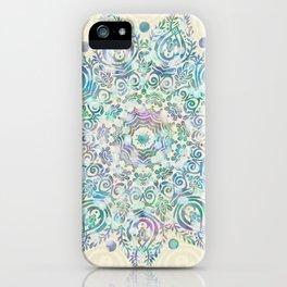 Mermaid Dreams Mandala iPhone Case