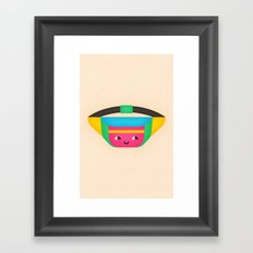 Fanny Pack Framed Art Print